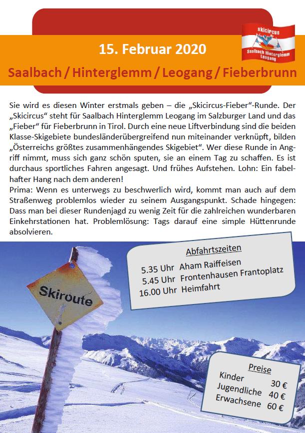 15 02 Sallbach Hinterglemm Leogang Fieberbrunn